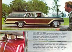 1962 Ford Country Squire station wagon