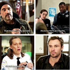 """""""Ruzek here needs to better appreciate the journey that he forgot to bypass."""" - 1x08"""
