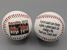 Softball Coach Gifts, Gifts For Baseball Players, Team Gifts, Baseball Crafts, Baseball Mom, Baseball Stuff, Baseball Season, Sports Mom, Sports Gifts