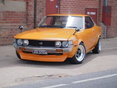 1976 RA23 Celica / 18R-C / SSR MK2 14x7.5 +6  fronts + 14 x 8 -12 rears