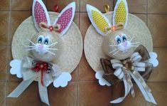 Holiday decorations spring easter party Ideas for 2019 Easter Egg Crafts, Easter Projects, Bunny Crafts, Hat Crafts, Diy Ostern, Easter Cross, Holiday Crafts For Kids, Easter Holidays, Easter Party