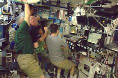 """""""Great start today. We watched the successful Falcon launch from on board the ISS. Dragon on the way!"""""""