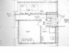Loft Conversion Floor, Terraced House Loft Conversion, Architectural Services, Architectural Drawings, North London, Bedroom Loft, Home Improvement, Hemel Hempstead, Floor Plans
