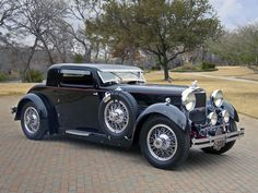 1929 Stutz Model M | Stutz Model M Supercharged Lancefield Coupe '1929–30