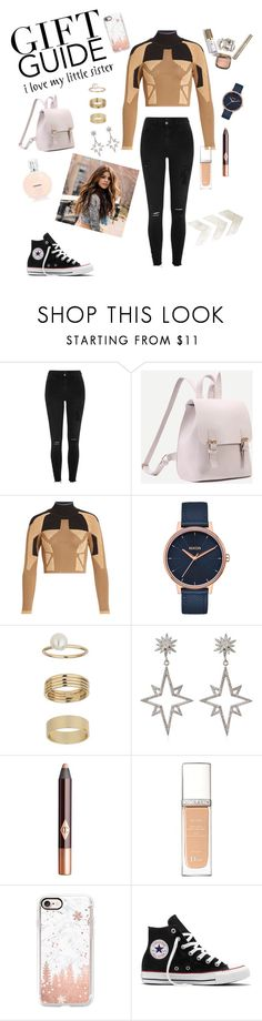 """Untitled #8"" by silviamachado20 ❤ liked on Polyvore featuring River Island, adidas Originals, Nixon, Miss Selfridge, Apples & Figs, Charlotte Tilbury, Christian Dior, Casetify and Converse"