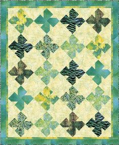 St. Patrick's Day Quilt on Craftsy.com