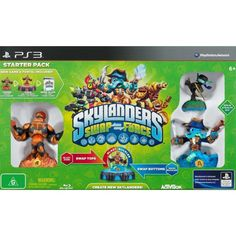 "Skylanders SWAP Force, ""Fright Rider;Wrecking Ball;Flameslinger"", Game & Portal, Starter Pack, for Playstation 3"