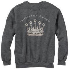Downton Abbey Women's - Grantham Crown Sweatshirt #downton #downtonabbey #pbs