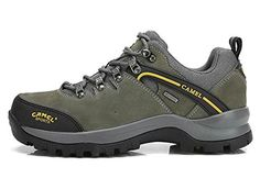 Introducing Camel Mens Follower Hiking Shoes Lace Up Color Deepgray Size 44  M EU. Great 9ed4ca30964