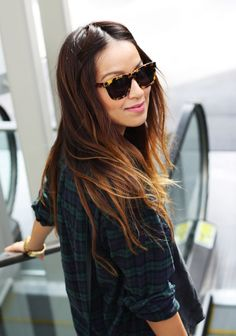 shades + flannel