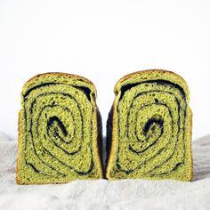 Sourdough Matcha and Black Sesame Swirl Bread • Cook Til Delicious