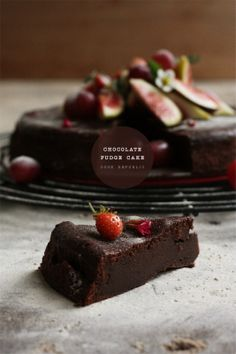 Spring-Chocolate-Fudge-Cake frome Cook Republic