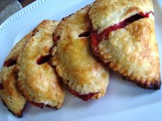 Strawberry Hand Pies- i love a homemade hand pie.. store bought ones are ridiculously bad for you, but you can modify this to be gluten and dairy free! <3