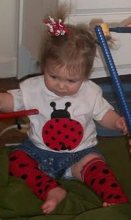 ladybug shirt/babylegs...have to get these before the party!