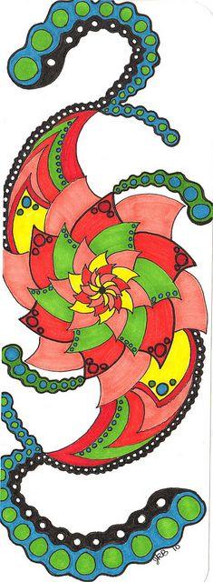 sharpies Tangle Doodle, Doodles Zentangles, Doodle Drawings, Doodle Art, Sharpie Wine Glasses, Sharpie Designs, Teen Projects, Zen Design, Sharpie Pens