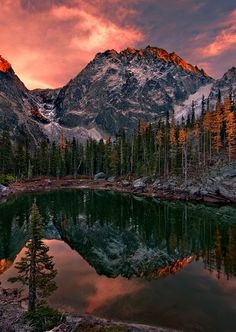 Alpine Lake Wilderness of Washington