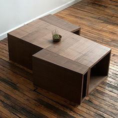 Modular Coffee Table Red Hook Brooklyn, Coffee Table Size, Coffee Table Furniture, Pencil And Paper, Table Sizes, Interior Decorating, Interior Design, Small Living Rooms, Small Apartments