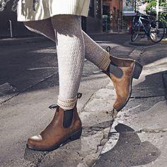9fe522cf9 Shop Women's BLUNDSTONE 1673 Heel Ankle Boot in Antique Brown   The 1673  Women's Heel boot