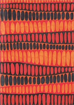 Orange pattern By savvysmilinginlove Motifs Textiles, Textile Prints, Textile Patterns, Textile Design, Color Patterns, Fabric Design, Print Patterns, Orange Pattern, Retro Pattern