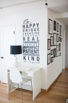 words on the walls