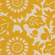 Stockholm Sun from Calico Corners Yellow Fabric, Floral Fabric, Chair Fabric, Drapery Fabric, Suzani Fabric, 20x20 Pillow Covers, Throw Pillow, Calico Corners, Cool Fabric