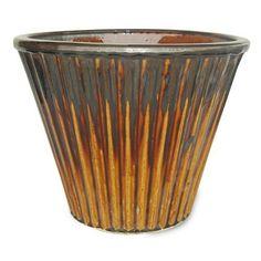 Kos ceramic dripped planter