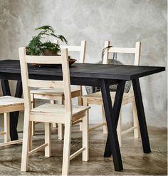 MÖCKELBY Table, oak   Pinterest   Ikea, Tavolo e Sala da pranzo