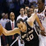San Antonio cerró la serie 4 a 2 frente a Oklahoma y definirá la NBA ante Miami