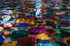 Our Colour Reflection: Art Installation by Liz West