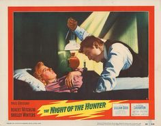 Lobby Card from the film The Night Of The Hunter