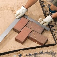 Laying a new brick patio? Read this first.