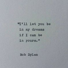 Dylan...
