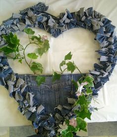 Jean Heart Wreath