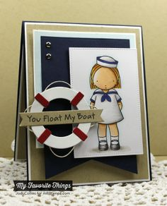 Featuring: Pure Innocence Sailor Girl and Striped Background!