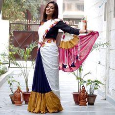 Patch work saree <3