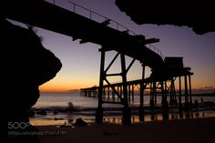 Dawn Silhouette (Brad Lambert Photography / Lake Macquarie / Australia) #NIKON D80 #landscape #photo #nature