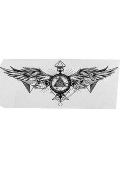 Tattoo Skull Tattoos, Mini Tattoos, Body Art Tattoos, Sleeve Tattoos, Rune Tattoo, Tattoo Motive, Chest Piece Tattoos, Chest Tattoo, Symbolic Tattoos