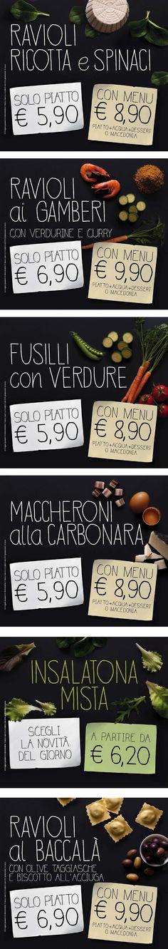 Italian menu design with cutlery symbols by nikolae, via - italian menu