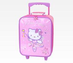 Hello Kitty Mini Rolling Luggage: Ballet