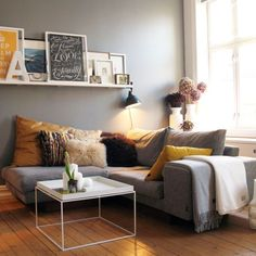 Home decor for small apartments decorating small apartment perfect apartment living room decor ideas for apartment . Living Room Grey, Home Living Room, Apartment Living, Living Room Designs, Living Spaces, Small Living, Cozy Apartment, Cozy Living, Apartment Ideas