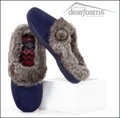 89284b1a2db The Dearfoams Slipper Weekly Giveaway is LIVE WIN this Pair of Microsuede  Clogs!
