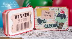 """Brigit's Scraps """"Where Scraps Become Treasures"""": Jaded Blossom March Release - Birthday Coupon Book"""