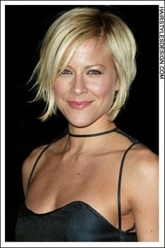 wish my hair would grow out and then i see pictures of short blonde bobs and i want to cut mine back off soo bad!
