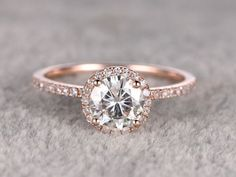 How Are Vintage Diamond Engagement Rings Not The Same As Modern Rings? If you're deciding from a vintage or modern diamond engagement ring, there's a great deal to consider. Engagement Ring Rose Gold, Wedding Rings Solitaire, Engagement Rings Round, Beautiful Engagement Rings, Diamond Wedding Bands, Diamond Rings, Halo Engagement, Solitaire Diamond, Bridal Rings