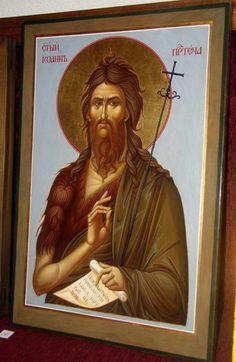 Wings Icon, Jean Baptiste, Orthodox Icons, Fresco, Egyptian, Films, Cinema, Painting, Movies