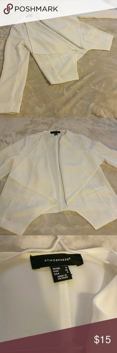 NWOT white blazer Brand new without tags white waterfall blazer. Jackets & Coats