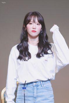 Cute Korean, Korean Girl, Wjsn Luda, Cosmic Girls, Favorite Person, Girl Group, Fashion Beauty, Idol, Bell Sleeve Top
