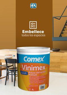 Vinimex® es ideal para embellecer todo tipo de espacios por su desempeño y durabilidad.Colores disponibles: Más de 3500 del Sistema ColorLife® 2.0 y 27 de línea.#ProductosComex