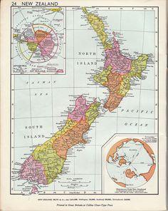 Ephemera: Wonder atlas New Zealand