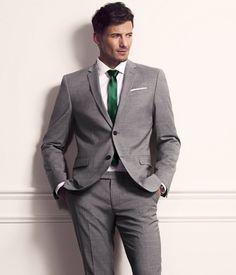 2017 Latest Coat Pant Designs Grey Men Suit Wedding Suits For Men Terno Slim Fit Skinny Tuxedo Custom Blazer 2 Piece Masculino Wedding Men, Wedding Suits, Wedding Attire, Wedding Tuxedos, Wedding Ideas, Wedding Poses, Wedding Pictures, Wedding Details, Fashion Moda